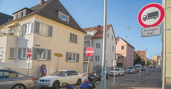 Stau Ludwigsburg