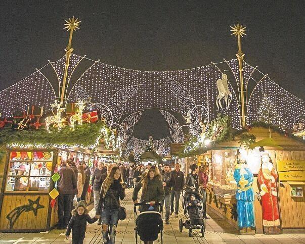 Ludwigsburg Weihnachtsmarkt.Mobile Sperren Zum Weihnachtsmarkt Stadt Ludwigsburg
