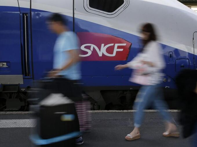 SNCF-Zug in Paris