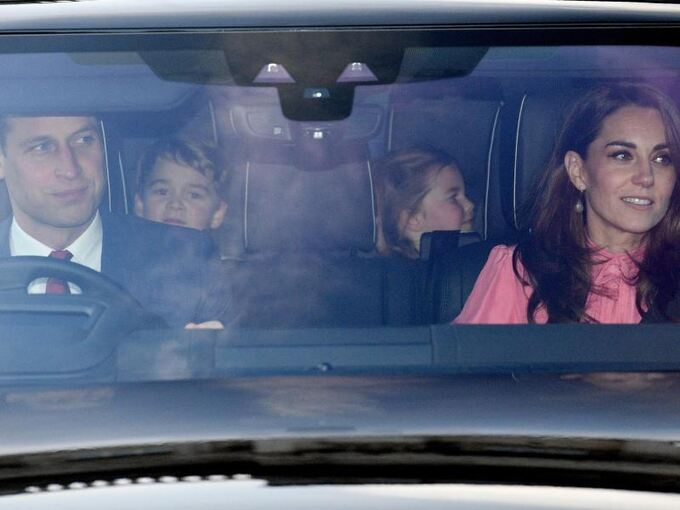 William,Kate,George & Charlotte
