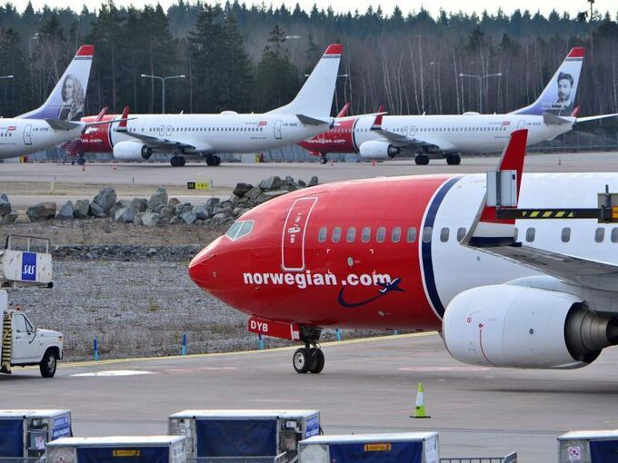 Billigflieger Norwegian