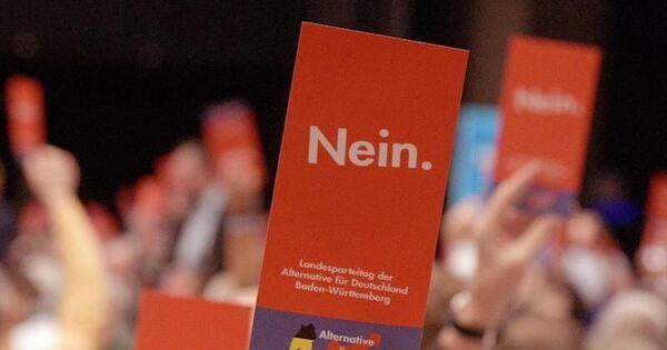 Afd Parteitag Baden Württemberg