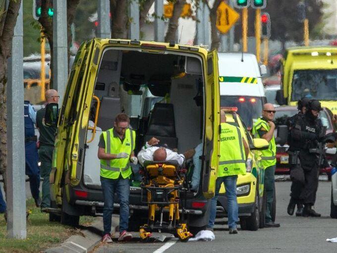 Neuseeland Moschee Video Photo: Mindestens 49 Tote Bei Angriff Auf Moscheen In Neuseeland