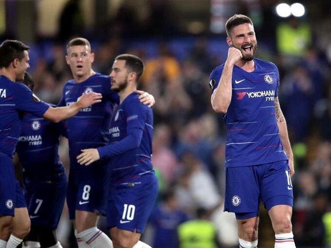 Chelsea Slavia Detail: Chelsea, Arsenal Und Valencia Im Halbfinale