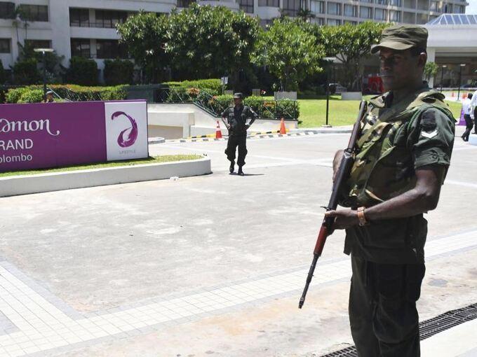 Neuseeland Terror Detail: Terrorgruppe IS Reklamiert Anschläge In Sri Lanka Für Sich