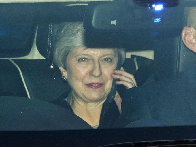 Premierministerin Theresa May in London