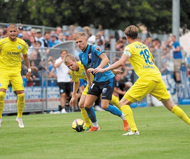 Fsv 08 Bissingen Stellt Den Kickers Ein Bein Fussball