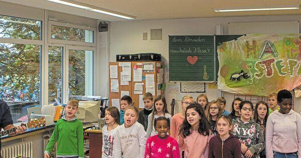 """Eine Klasse rockt den """"Happy Steppi"""" - Ludwigsburger Kreiszeitung"""