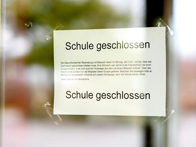Schulen In Baden Württemberg Wegen Corona Geschlossen